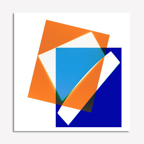 Jeffrey Rothstein - Untitled (Blue and Orange)