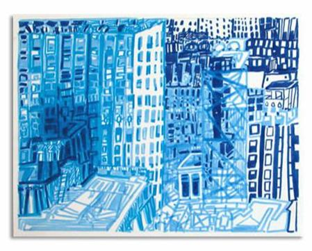 Josette Urso - City Blue 2