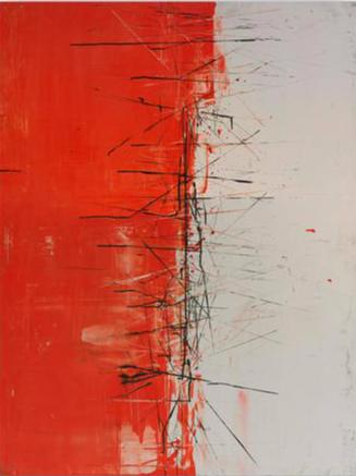 Karlos Marquez - Red and White - Abstract Collection