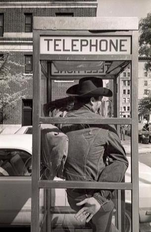 Gene Spatz - Man in Phone Booth
