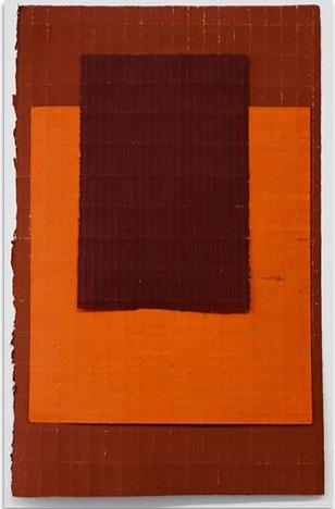 Jean Wolff - Orange Layered