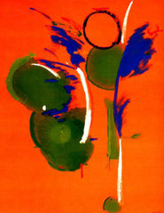 Helen Frankenthaler - Mary, Mary, Rose Building, 1990