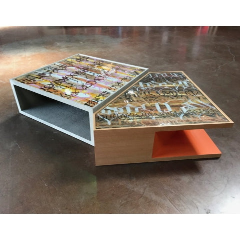 Custom Art x Furniture Coffee Table - Big Sleeps