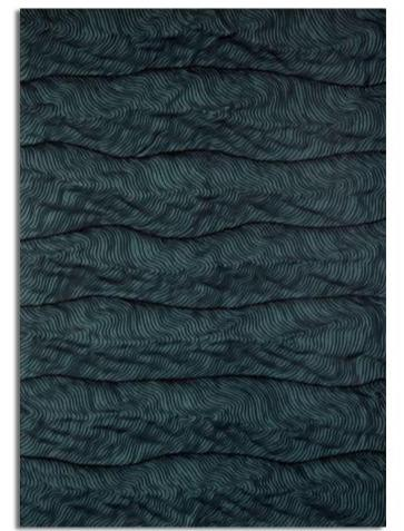 Lali Torma - Wave Series - Teal Wave
