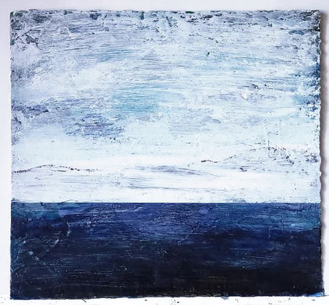 Live ArtFully - Blue Seascape II