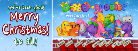 Merry Christmas from teh Dino-Buddies