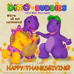 DinoBuddies Happy Thanksgiving
