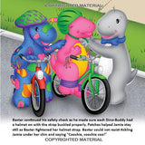 The Bicycle of Many Colors - Paperback Book - DinoBuddies