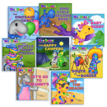 Dino-Buddies 8 Book Paperback Set