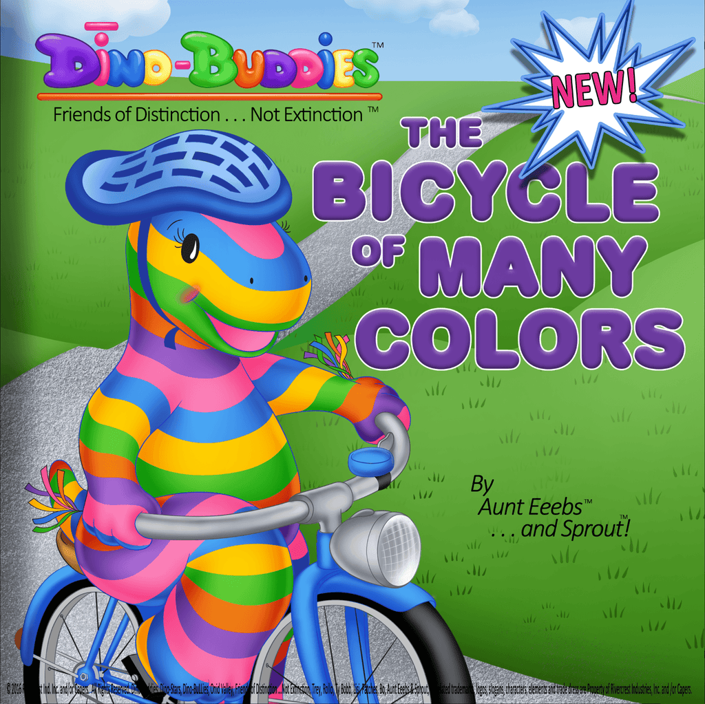 The Bicycle of Many Colors - Paperback Book