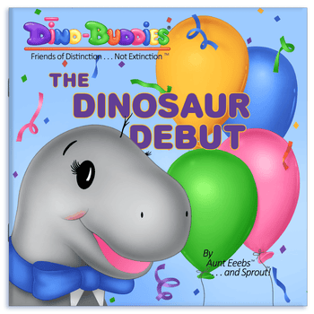 The Dinosaur Debut - Paperback Book