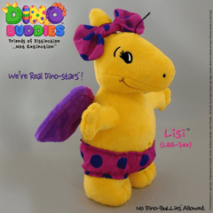 Plush - LISI - DinoBuddies