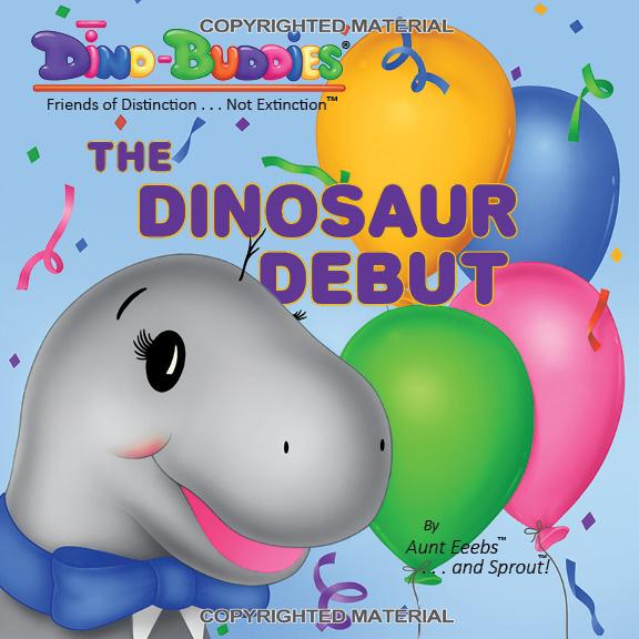 1 - Book - The Dinosaur Debut