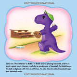 The Dinosaur Debut - Paperback Book - DinoBuddies