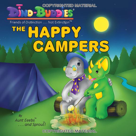 The Happy Campers - Paperback Book