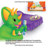 The Happy Campers - Paperback Book - DinoBuddies