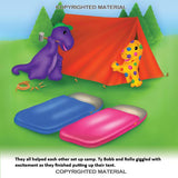 The Happy Campers - Read-Along Music CD - DinoBuddies