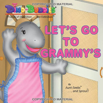 Let's Go To Grammy's - Paperback Book