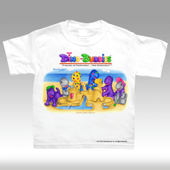 Sand Castle T-Shirt - DinoBuddies