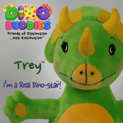 Plush - TREY - DinoBuddies