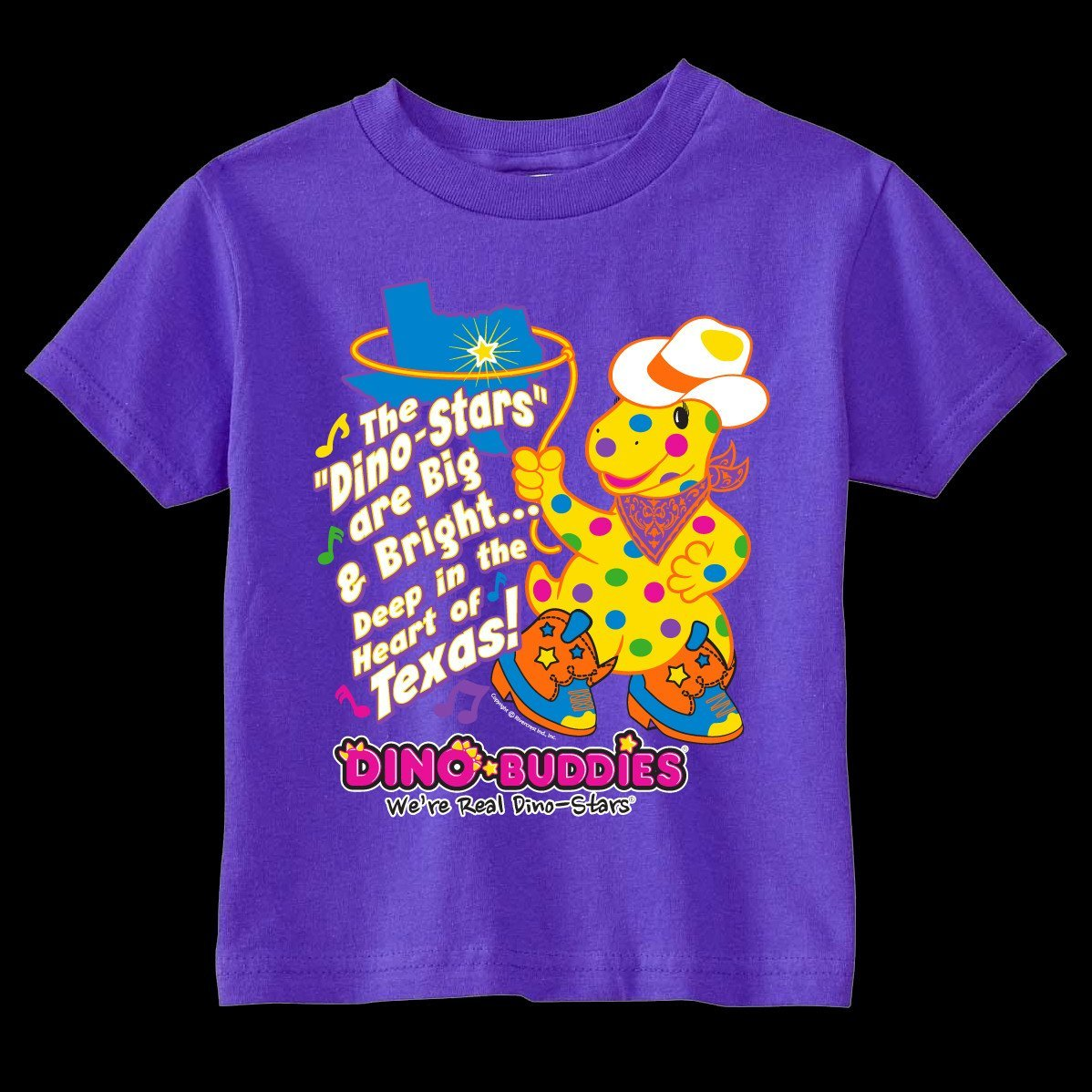 T-Shirt - Deep in the Heart of Texas - DinoBuddies