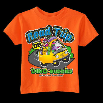 T-Shirt - Dino-Bus Road Trip w/Pap!