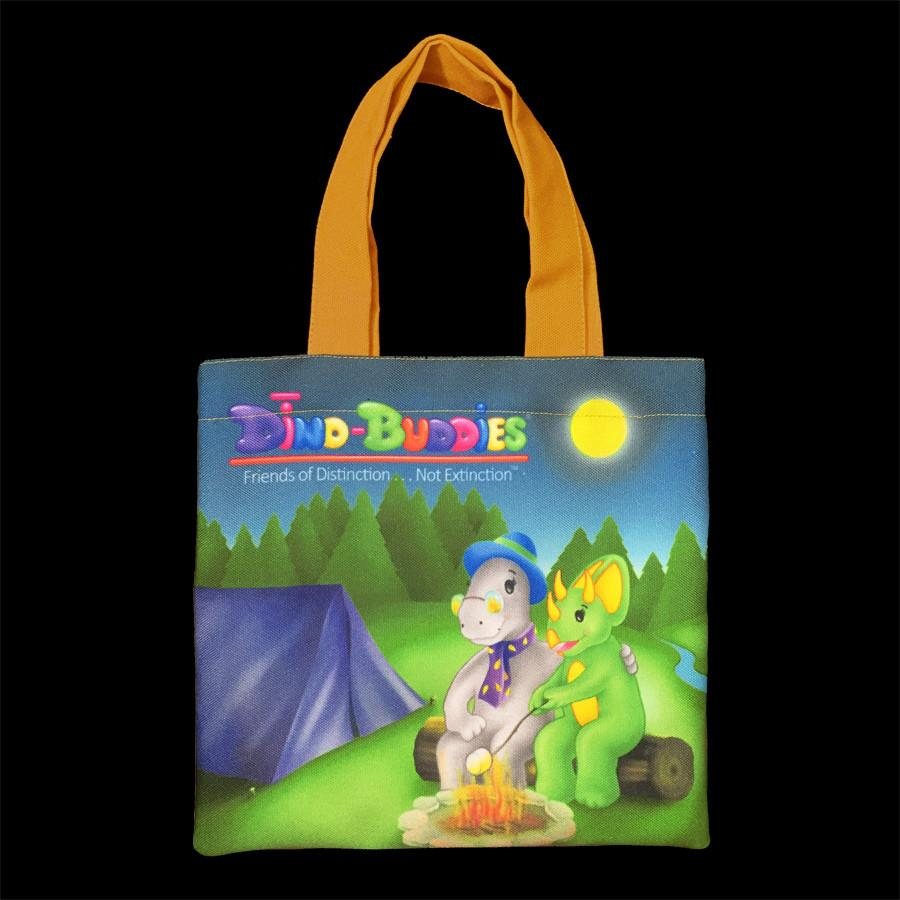 Tote Bags - The Happy Campers - Yellow