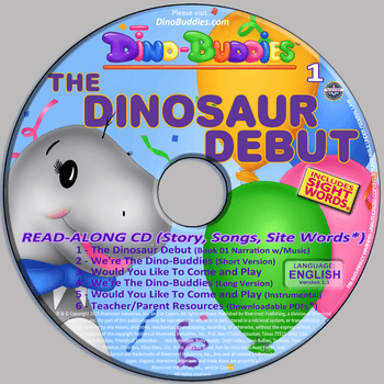 The Dinosaur Debut - Read-Along Music CD