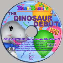 The Dinosaur Debut - Read-Along Music CD - DinoBuddies