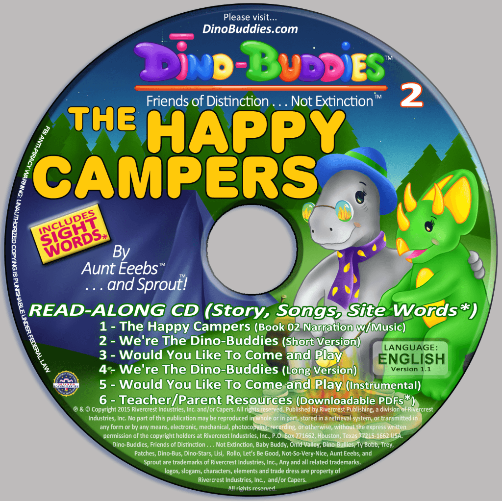 The Happy Campers - Read-Along Music CD