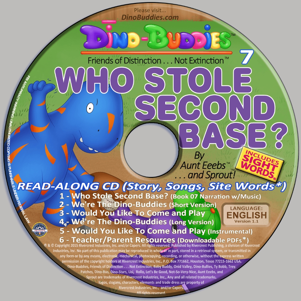 Who Stole Second Base? - Read-Along Music CD