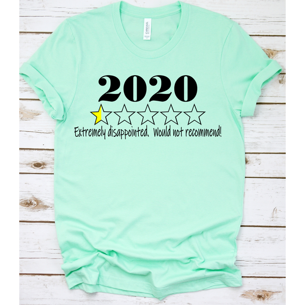 2020 Would Not Recommend on Mint Crewneck (Fits True to Size)