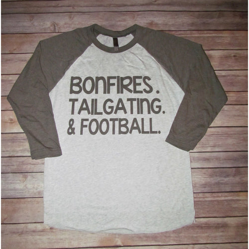 Bonfire Tailgating & Football The Posh Pearl Apparel Co in Texas