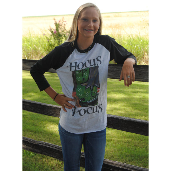 Hocus Pocus, Halloween Tee, The Posh Pearl Apparel Co