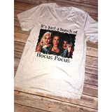 Hocus Pocus on Oatmeal Crew Neck (Unisex Sizing)