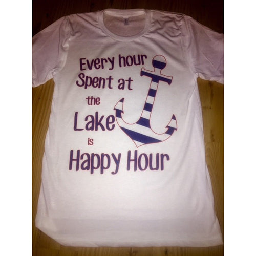 Lake Happy Hour Tee