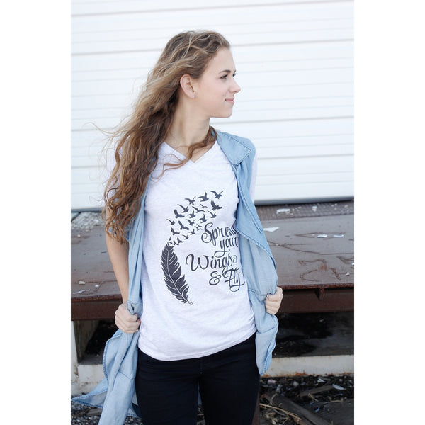 Spread Your Wings and Fly Tee (Unisex Sizing)