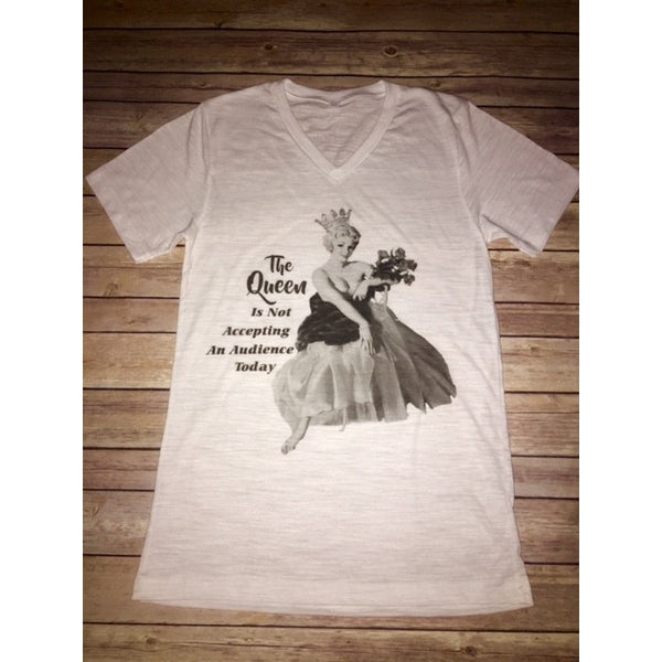 The Queen Tee The Posh Pearl Apparel Co in Texas