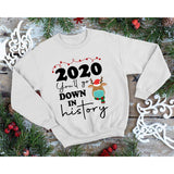Christmas 2020 on Sand Sweatshirt (Fits True to Size)