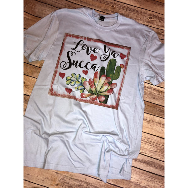 Love Ya Succa on Ice Crew Neck (Fits True to Size)