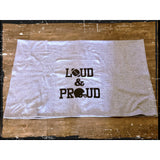 "Loud & Proud Stadium Blanket 50"" X 60"""