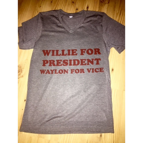 Willie for President Tee