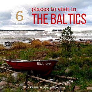 Top 6 sightseeing spots in the Baltics region