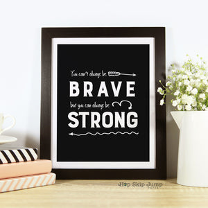 Free Printable - Strong Always