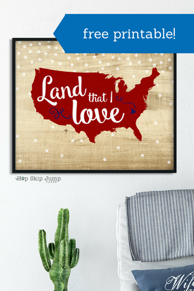 Land That I Love: Free Printable!