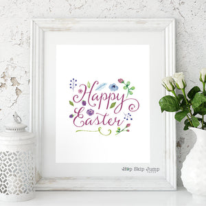 Happy Easter (FREE PRINTABLE!)