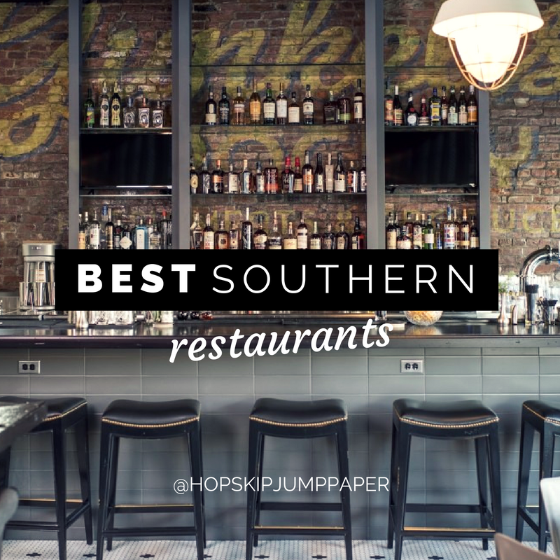 4 Must Try Southern Restaurants