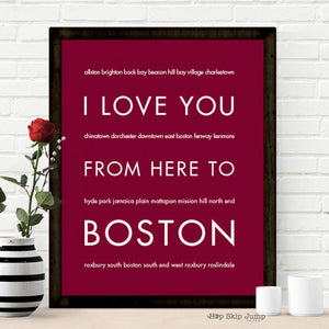 Unique Valentine's Day gifts for Bostonians
