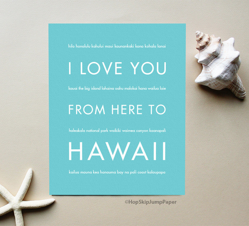 Aloha! Celebrate your Time in the Hawaiian Islands with Unique Art
