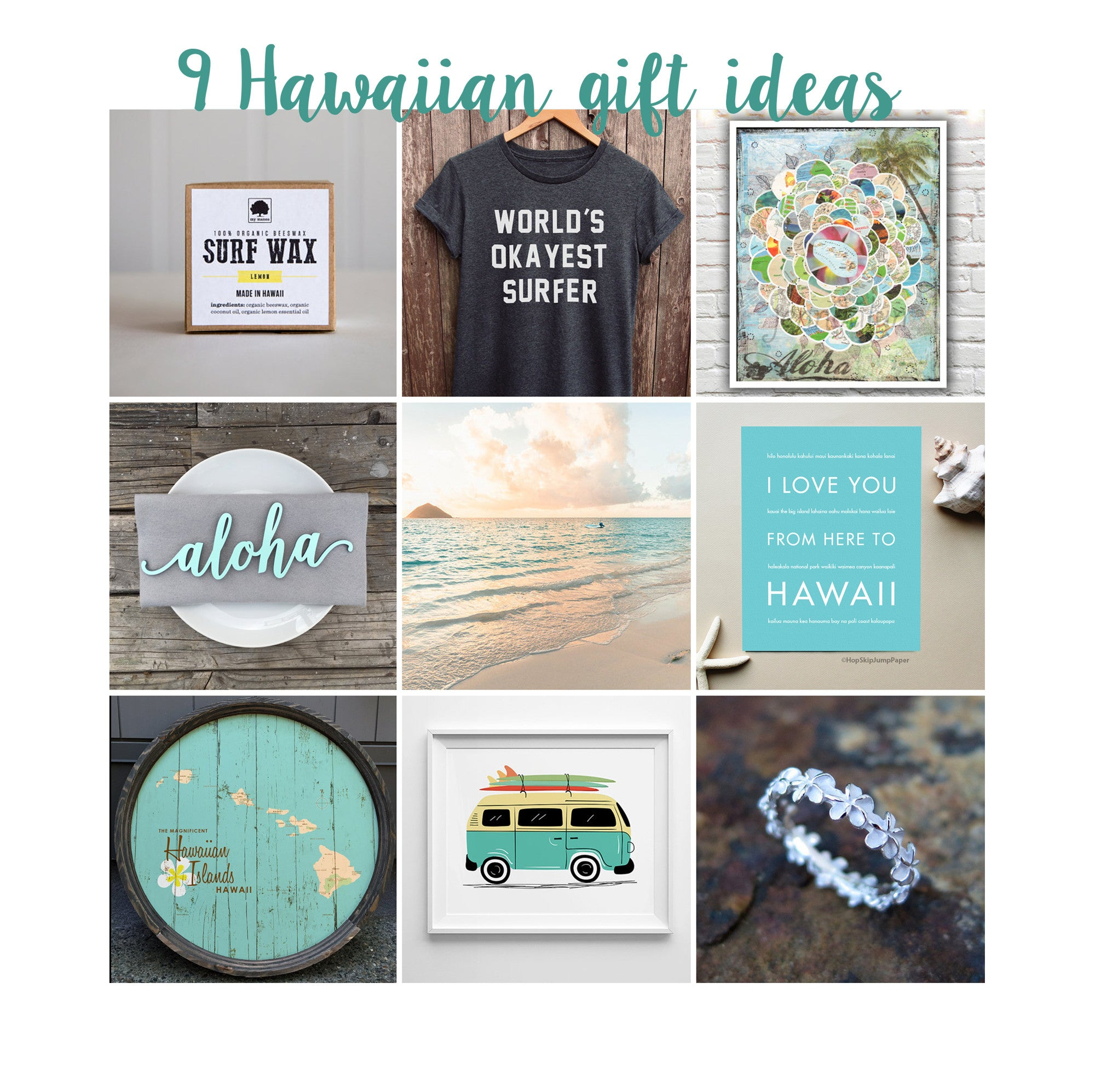 Top 9 Hawaiian Gift Ideas
